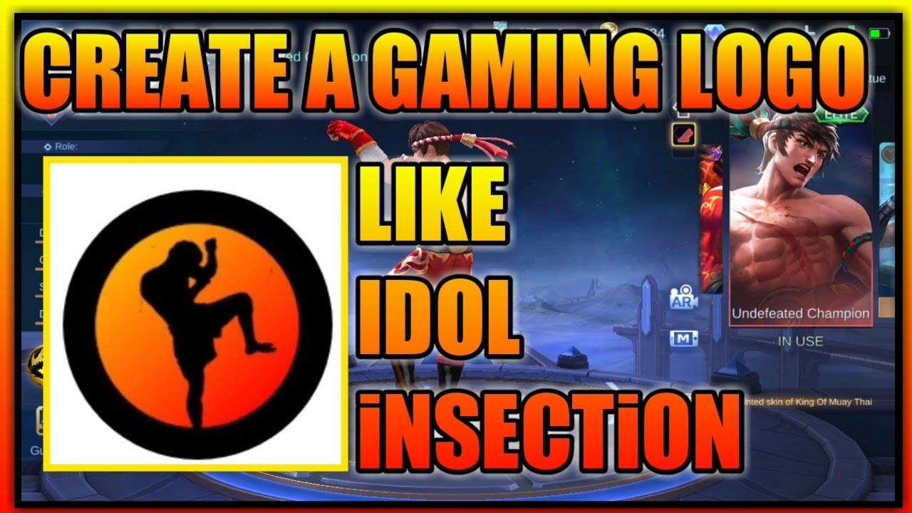HOW TO CREATE A GAMING LOGO • LIKE iNSECTiON • MOBILE ...