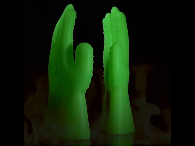 BBQ Gloves // Green Glow in the Dark video thumbnail