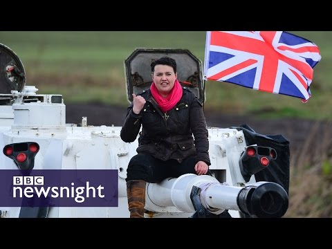 Ruth Davidson: The 'tough old bird' of Tory Scotland - BBC Newsnight
