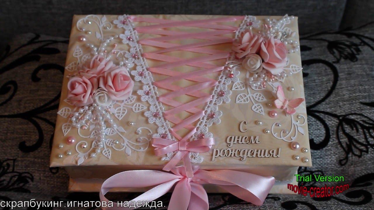 Шкатулка из картона своими руками для хранения украшений