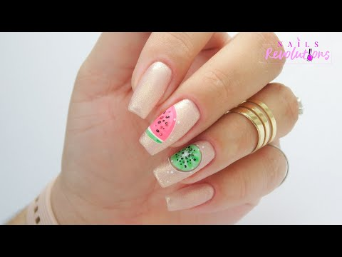 Icon fruit nails art tutorial / Eveline Cosmetics thumbnail