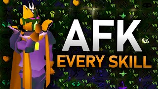 How to AFK Every Skill in OSRS