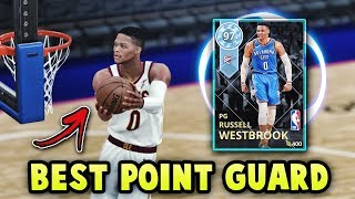 NBA 2K18 DIAMOND RUSSELL WESTBROOK IS UNGUARDABLE!! THE BEST POINT GUARD IN NBA 2K18 MyTEAM!!
