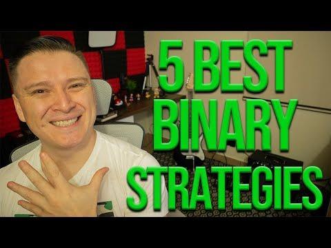 BEST 5 BINARY OPTIONS STRATEGIES IN 2020!