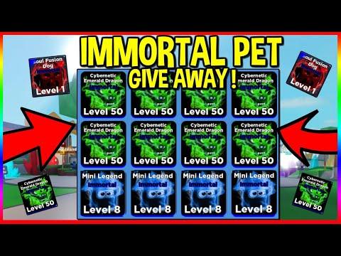 💎FREE IMMORTAL PETS GIVEAWAY!   NINJA LEGENDS GIVE AWAY   HUGE  