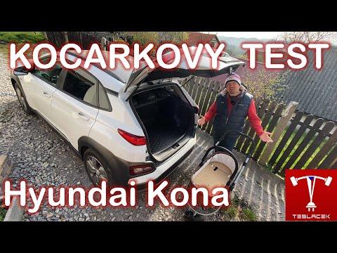 #201 Hyundai Kona kočárkový test | Teslacek