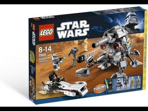 LEGO Star Wars 7869 Battle for Geonosis™ Review - YouTube