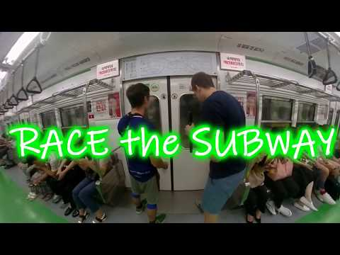 Race the Subway Seoul #1 - Euljiro 4ga