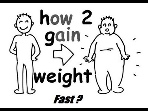 How To Gain Weight Fast Naturally - Natural Foods and Combinations
