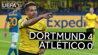 DORTMUND 4-0 ATLÉTICO #UCL HIGHLIGHTS