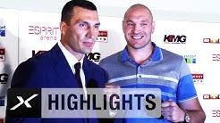 Wladimir Klitschko vs. Tyson Fury: Vier Fäuste in Düsseldorf | Boxen