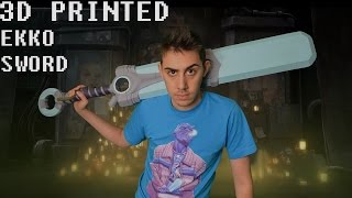 [3D PRINTING] Ekko Sword From League Of Legends