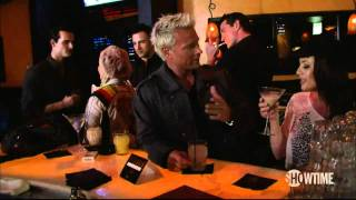Gigolos hit on ladies at the bar