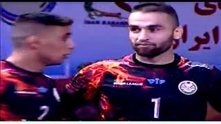 Fazal Atrachali in action  Iran kabaddi premier league 2019  Rade Parafand vs Jelin