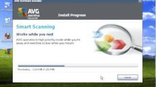 How To Install AVG Free Anti Virus On Windows XP