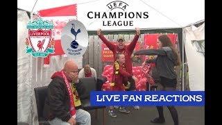 Tottenham Hotspur 0-2 Liverpool FC , Champions League Final 2019, LIVE Fan Reactions