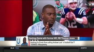 Thomas Jones joins SportsNation.