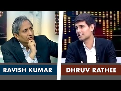 Ravish Kumar Interviews Dhruv Rathee on NDTV Prime Time | Full Interview