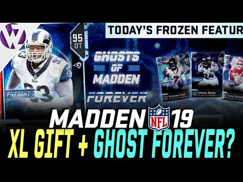 OPENING MY XL GIFT! + NEW VICK LATER? GHOST OF MADDEN FOREVER? - Madden 19 Pack Opening