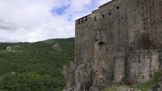 Le Château de Ventadour (Ardèche - France)