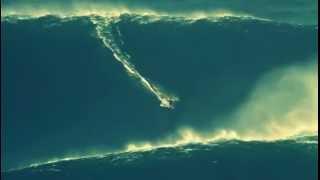 Garrett McNamara Rides The Biggest Wave EVER!