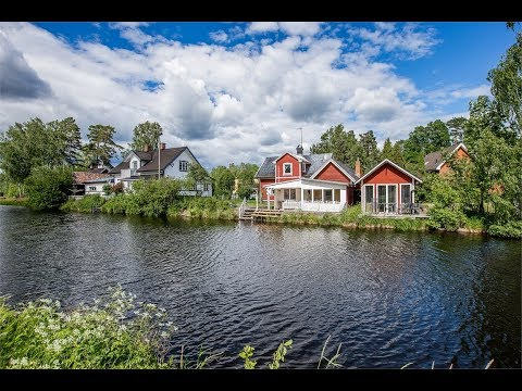 Beautiful house by the River Emån, fantastic fishing in Sweden.