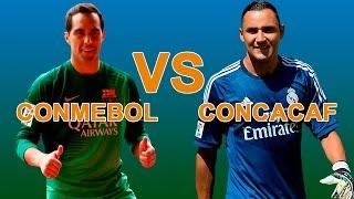 Conmebol VS Concacaf