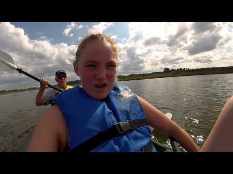 Another Emily video, Kayaking Neponset River, Milton, MA Sept 1 2014