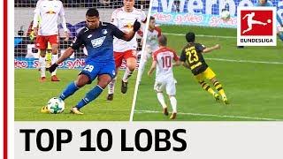 Top 10 Lob and Chip Goals 2017/18 - Gnabry, Götze, Kramaric & More