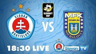 Slovan Bratislava vs Zemplin Michalovce full match