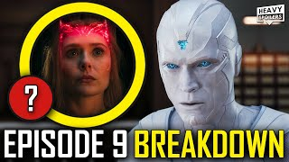 WANDAVISION Episode 9 Breakdown & Ending Explained Spoiler Review | Post Credits Scene & Easter Eggs