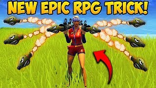 NEW CRAZY RPG TRICK! - Fortnite Funny Fails and WTF Moments! #291