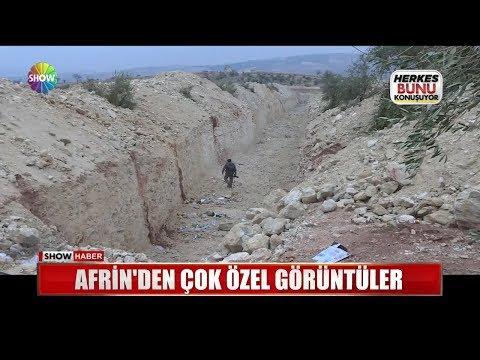 Afrin'den çok özel
