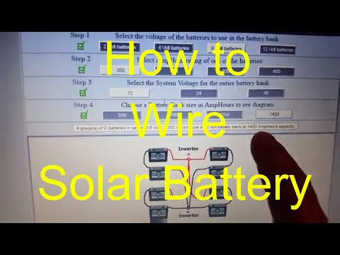 How To Wire Battery Bank Solar Power Your Home DIY