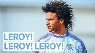 LEROY SANE TRAINS WITH THE TEAM | Man City Training