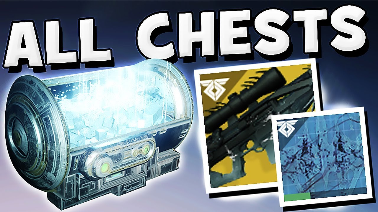 Destiny 2 - ALL HIDDEN CHESTS & ORACLE PUZZLE STEPS (Whisper of the Worm)