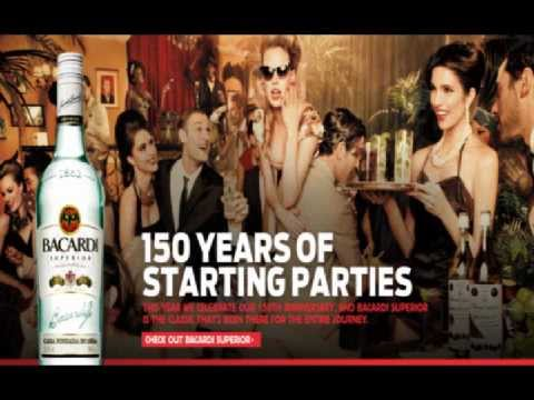 "Bacardi Commercial Song ""The Party 1957"" (2012)"