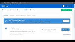 Coinbase - Downloading Tax Reports (Beta)