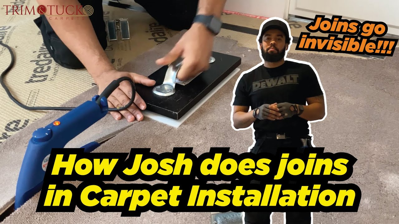 Download How Josh does the joins in mansion carpet installation