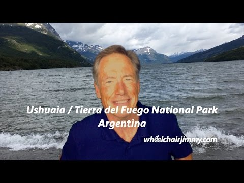 Ushuaia Argentina- Princess Cruise - Wheelchair Accessibility Review