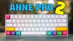Anne Pro 2 RGB Wireless Mechanical Keyboard - Unboxing & Review