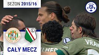 Zagłębie Lubin - Legia Warszawa [1. połowa] sezon 2015/16 kolejka 23