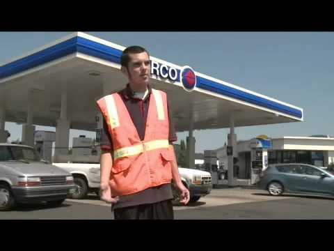 The Life of a Gas Station Attendant - YouTube