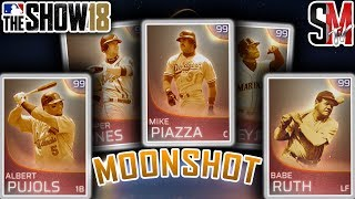 Stacked Immortal Moonshot Event Team! - MLB The Show 18 Gameplay