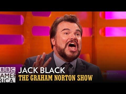 Jack Black Teases 'Jumanji' Theme Song Written with Nick Jonas - The Graham Norton Show