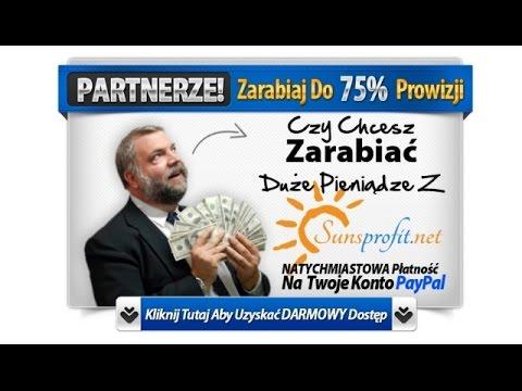 Program Partnerski SunsProfit.net - 75% Zysku Dla Ciebie Z Promocji Naszych Produktów