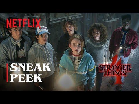 Stranger Things 4 | Sneak Peek | Netflix