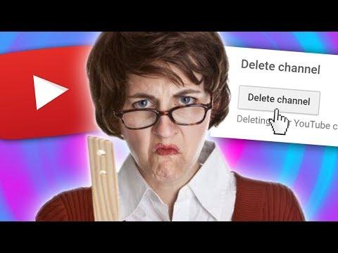 MY TEACHER WANTS TO DELETE MY CHANNEL...