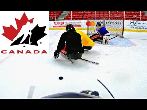 I PLAYED SLEDGE HOCKEY WITH TEAM CANADA!