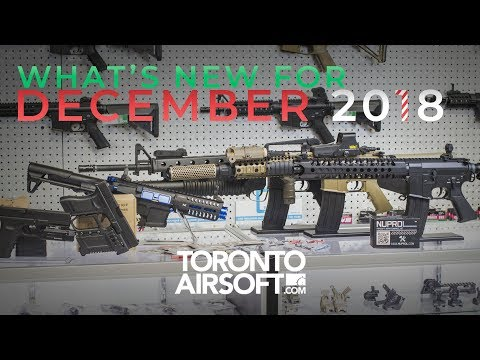 What's new for DECEMBER 2018 - E&C, Glock kit, DBAL, Nuprol - Toronto Airsoft.com